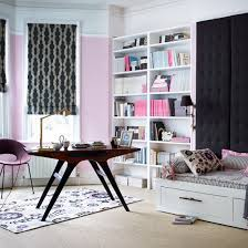 living room home office. Pink Home Office With Day Bed Living Room