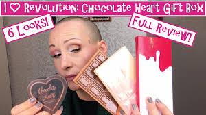 makeupgiftset revolutionchocolateheart aginggorgeously