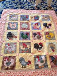 Chicken and Rooster Quilt – No Pattern Available – It was designed ... & Chicken and Rooster Quilt – No Pattern Available – It was designed by a  lady I met at a quilt retreat Adamdwight.com