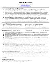 Ideas Of Sample Resume For Sales And Marketing Manager Sales And