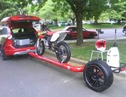 Pin by Adam Marimen on Bikes | Motorcycle trailer, Bike trailer, Car trailer