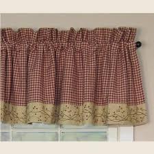 Primitive Curtains For Kitchen Primitive Kitchen Curtains Ginkofinancial