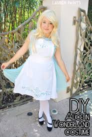 diy alice in wonderland costume