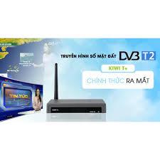 Tivi box KIWI T+ Tích hợp DVB-T2 1 Đầu thu chạy 2 chương trình. - ChoBaDao