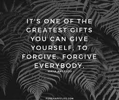Forgive Yourself Quotes Classy Forgiveness Quotes It's One Of The Greatest Gifts You Can Give