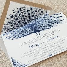 Peacock Invitations Brilliant Peacock Wedding Invitations Peacock Wedding Invitation
