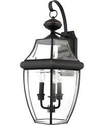 quoizel ny8318 newbury 13 inch wide 3 light outdoor wall light capitol lighting 1 800lighting com