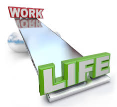 career and life balance can be tough a blue ribbon resume work versus life balance on see saw scale