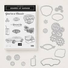 Image result for geared up garage stampin up