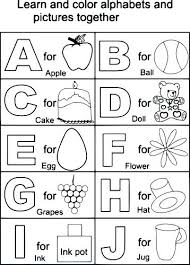 Printable Color Letters Printable Coloring Alphabet Letters Free