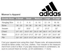 Adidas Rugby Shorts Size Chart