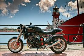 triumph thunderbird cafe racer pt4 sold taimoshan cycle works