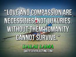 love and pion are necessities not luxuries