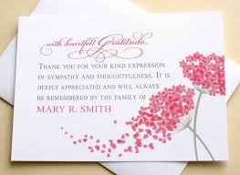 Thank You For Sympathy Card Thank You Sympathy Cards With 2 Big Bright Pink Flowers Etsy