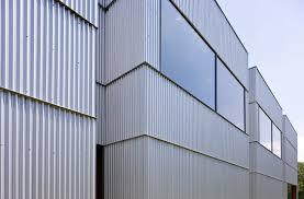 exterior corrugated metal wall panels withalaugh design