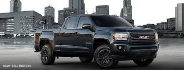 2018 gmc lifted trucks. simple 2018 exterior image from the front of 2018 gmc canyon nightfall edition  small pickup truck in gmc lifted trucks 5
