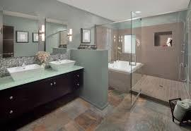 Granite Bathroom Tile Bathroom Tile Color Schemes Black Granite Top Glass Door Shower