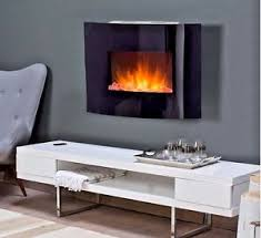 Small Picture Estate Design Electric Fireplace Wall Mount Faux Heater Crushed