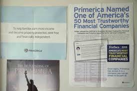 Primerica Financial Primerica Financial Services Di Cover D1