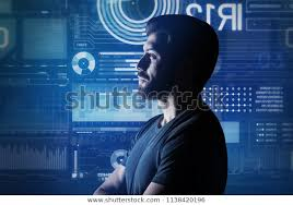 Computer System Analyst Computer System Analyst Calm Computer System Stock Photo