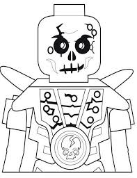 Kleurplaat Ninjago Chopov Skelet Van De Aarde 10