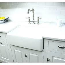 kohler whitehaven a sink 33 farm x ceramic farmhouse image of inch white kitchen installation