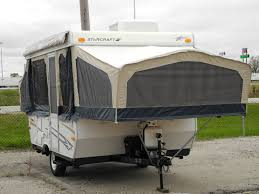 2008 starcraft pop up folding trailer air conditioning power lift bathroom shower i94rv you