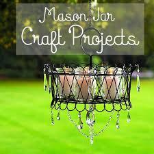 diy mason jar chandelier