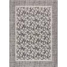 key haven charcoal indooroutdoor area rug gray outdoor rug g17