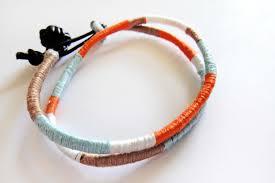 tutorial diy colorblocked friendship bracelet