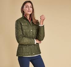 women barbour quilted jackets women barbour emma quilted jacket color olive