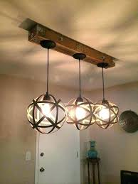 wood and iron chandelier french