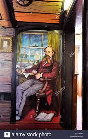 Montgomery Dickens portrait: a mural painting by English artist Jamie Stock  Photo - Alamy