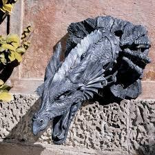 dragon garden statues. Stone Dragon Garden Statue Design Toscano Sir Gawains Sculpture Statues