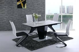 black gloss dining table and chairs dining room best choice of high gloss dining table sets great furniture trading company in black gloss dining table and