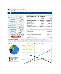 Sample Bank Rate Mortgage Calculator 7 Free Documents