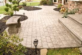 4 beautiful stamped concrete patterns and where to use them