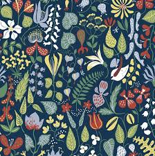 Small Picture BorasTapeter Scandinavian Designer Wallpaper Herbarium By Stig