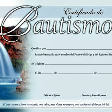 Certificado De Bautismo Template Frases Para Bautismo Cristiano