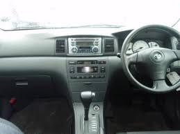 2002 Toyota Corolla RUNX Pictures, 1800cc., Gasoline, FF ...