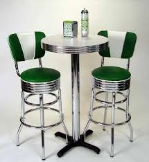pub table sets retro bar kitchen restaurant diner usa within stools and set inspirations 1