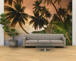 tropical wall mural painting ideas