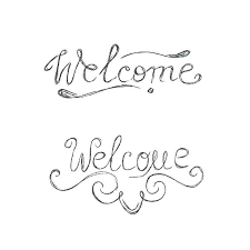 Sample Welcome Banner Anniversary Banner Template Happy Anniversary Placard Hipster