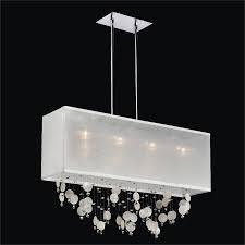 capiz chandelier rectangular shade finishing touches