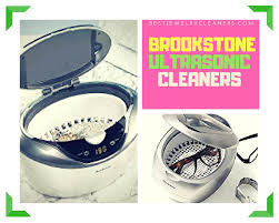 brookstone ultrasonic cleaner review