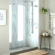 bypass shower door. Frameless Bypass Shower Door Sliding Bathroom Chrome Essence To In N