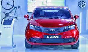 Tata Motors Showcases Tamo C Cube Connected Car Concept At Microsoft