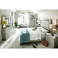 bedroom with mirrored furniture. Grey Bedroom With Mirrored Furniture Mirror Tables A