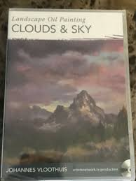 landscape oil painting clouds and sky with johannes vloothuis dvd
