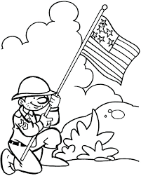 Veterans Day Coloring Page Veterans Day Coloring Pages For Kids